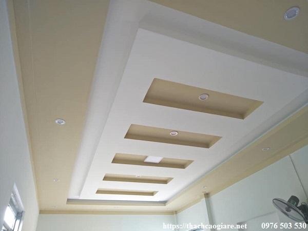 Các mẫu trần thạch cao phòng khách đẹp nhất