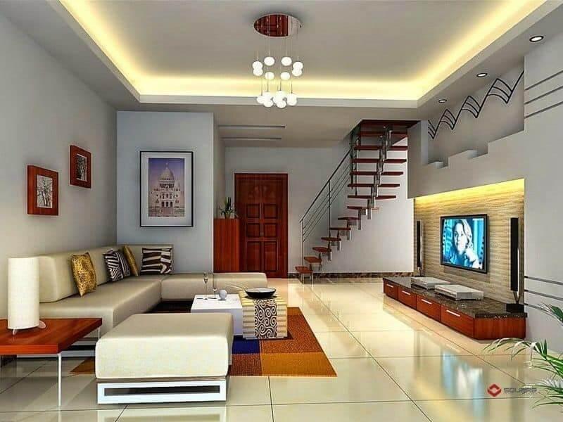 mẫu trần thạch cao phòng khách đẹp,